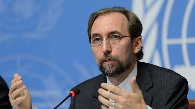 Seid Ra'ad al-Hussein, aut-cumissari da l'ONU