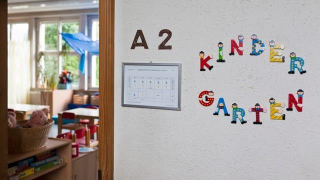 Blick in einen Kindergarten-Raum