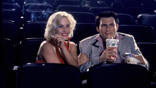 Patricia Arquette und Christian Slater in «True Romance».