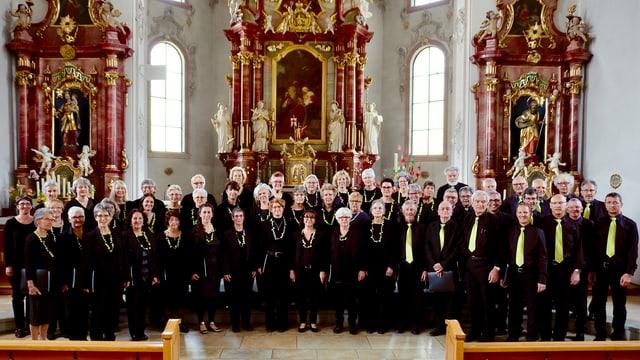 purtret dal chor Bündner Verein St. Gallen