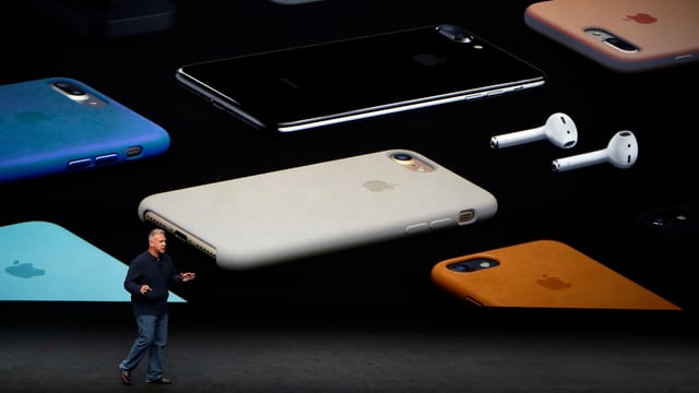 Apple präsentiert das iPhone 7.