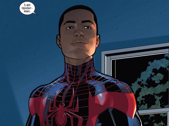 Der schwarze Spiderman Miles Morales