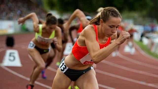 Selina Büchel è stada ier a Lucerna la sperta sur 800 meters.