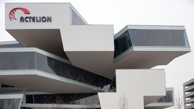 Das Gebäude von Actelion in Allschwil.