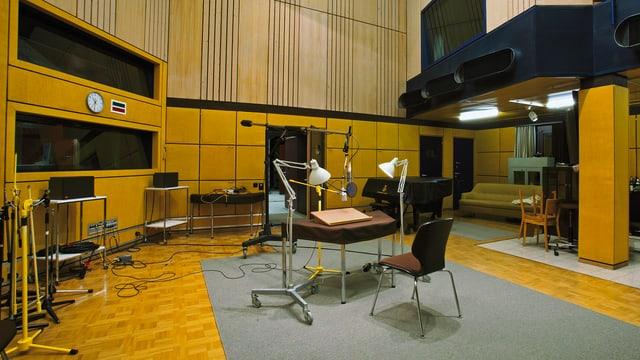 SRF Studio Basel: Hörspielstudio