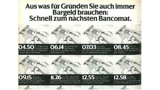 Reklame in der SI, 19. November 1979