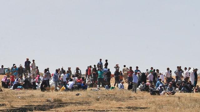 Blers fugitivs da la Siria.