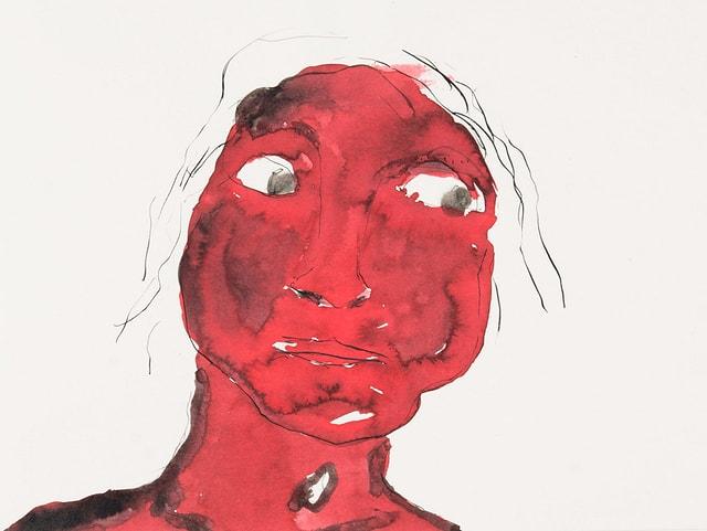 «Roter Kopf und weisse Augen»