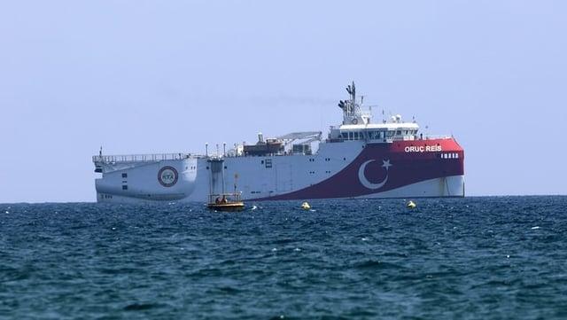Das türkische Forschungsschiff «Oruc Reis».