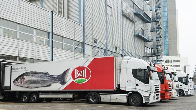 Bell-Lastwagen