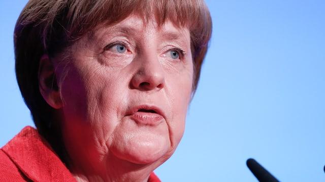 Merkel Nahaufnahme.