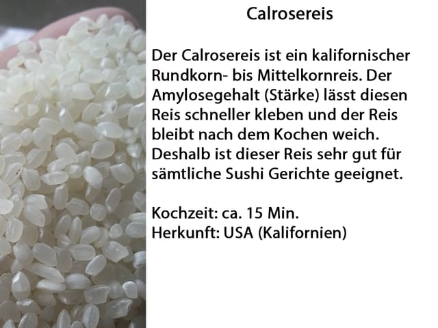 Calrose Reis