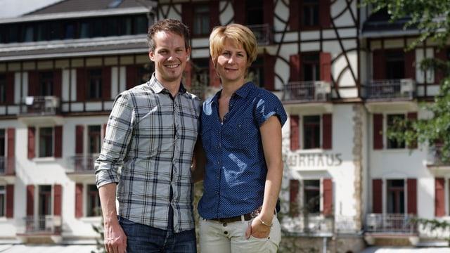 Dapi il 2009 mainan Maya e Christof Steiner il hotel.