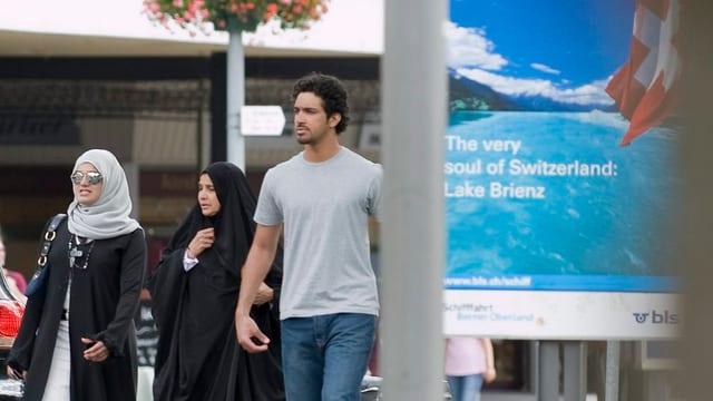 Arabische Gäste in Interlaken