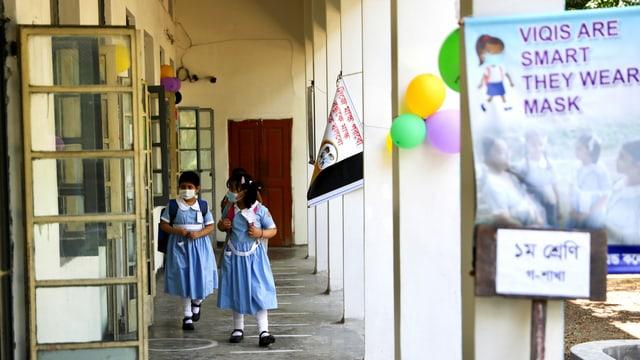 Schule in Dhaka, Bangladesch