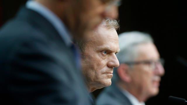 Der Präsident des Europäischen Rates, Donald Tusk.