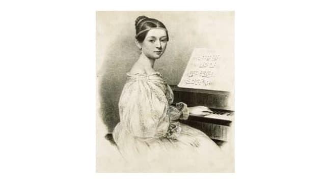 Dissegn da Clara Schumann
