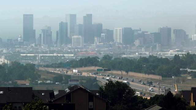 Die amerikanische Stadt Denver.