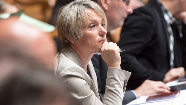 Elisabeth Schneider-Schneiter im Parlament