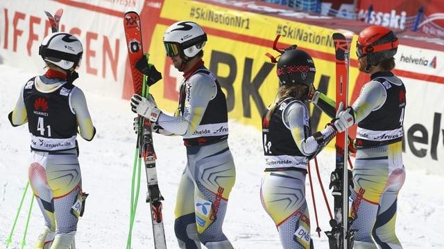 Norwegen gewinnt Team-Event – Schweizer enttäuschen