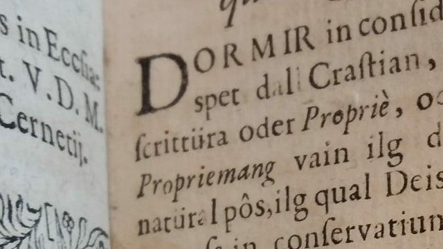 ediziun originala dal 1709