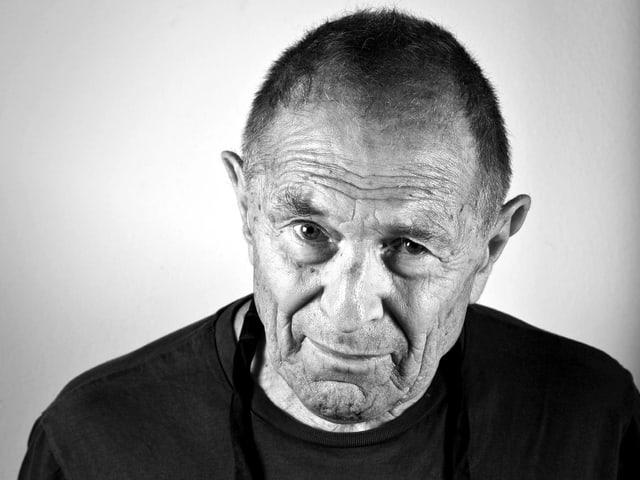 Schwarz/Weiss Porträt von David Goldblatt.