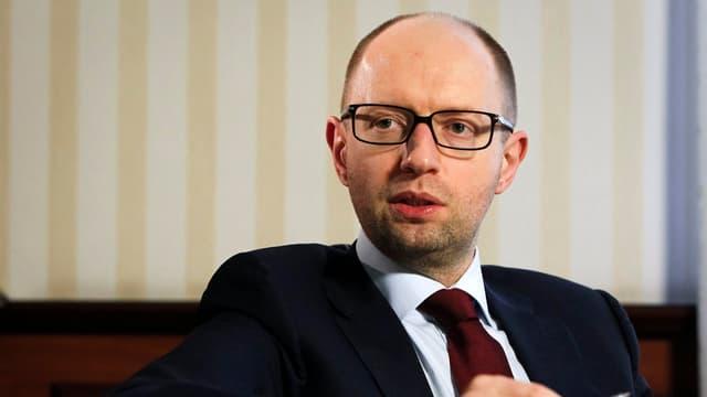 Der ukrainische Regierungschef Jazenjuk