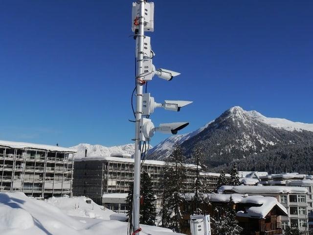 Detektionssysteme in Davos
