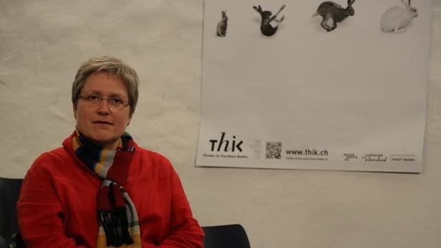 Anita Roesch, Leiterin des ThiK in Baden.
