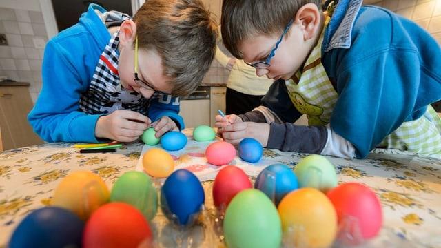 Warum färben wir eigentlich Eier?
