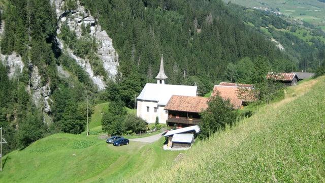Bündner Dorf St. Martin