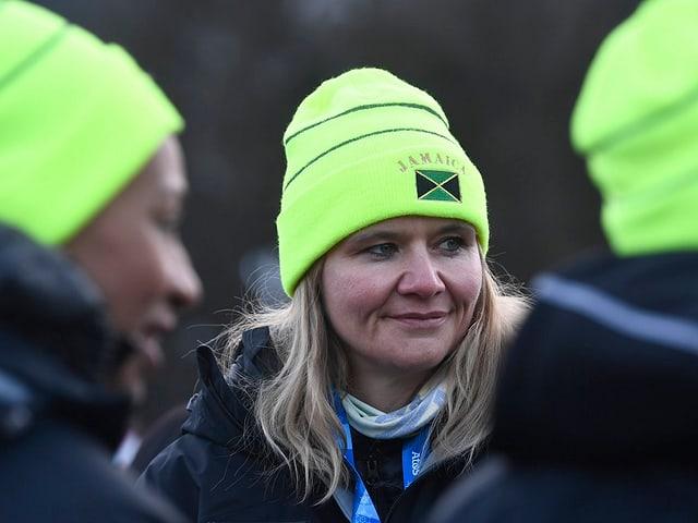 Jamaikas Bob-Trainerin Sandra Kiriasis.
