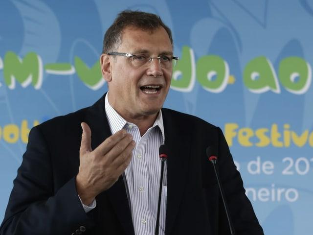 Jérôme Valcke spricht