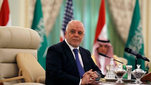 Primminister da l'Irac al-Abadi.