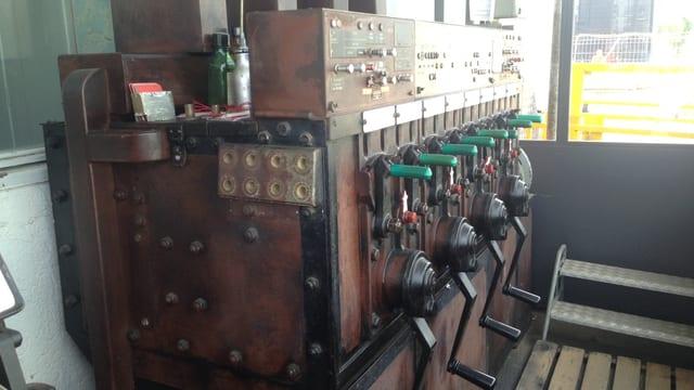 «Bruchsal G», das letzte mechanische SBB-Stellwerk der Schweiz wird ausser Betrieb genommen.