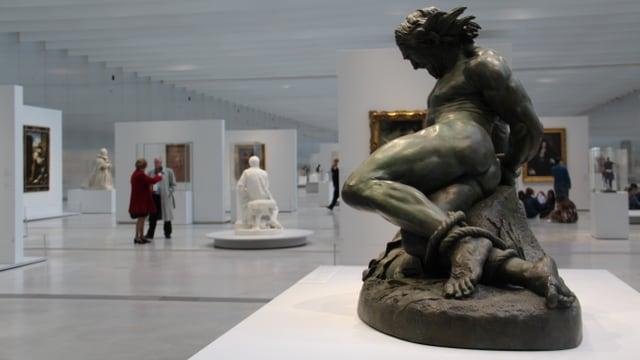 Exposiziun en il museum Louvre Lens.