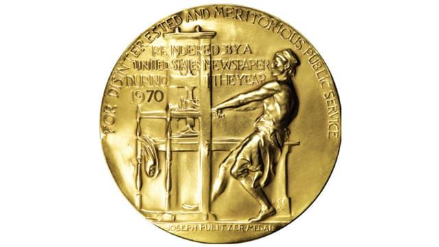 Medaille für Journalismus
