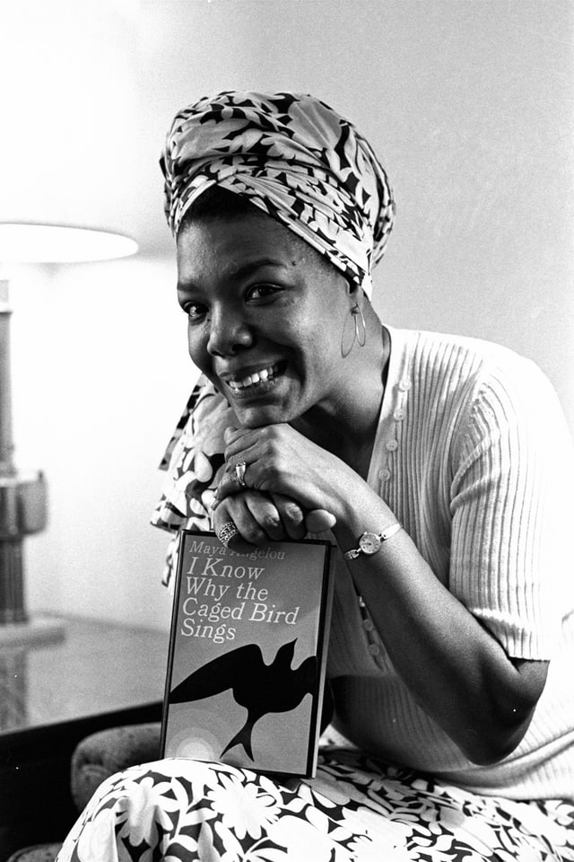 Maya Angelou und ihr Buch «I Know Why the Caged Bird sings»