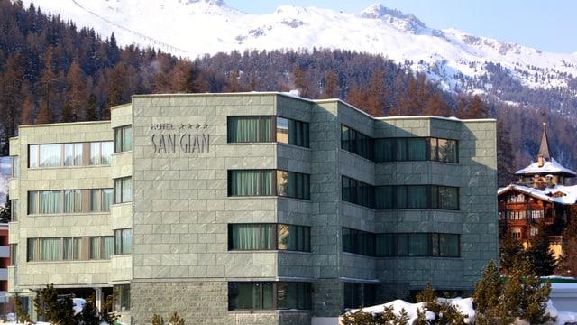 vista sin il hotel San Gian