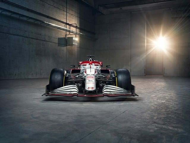 Bild des neuen Alfa-Romeo-Boliden