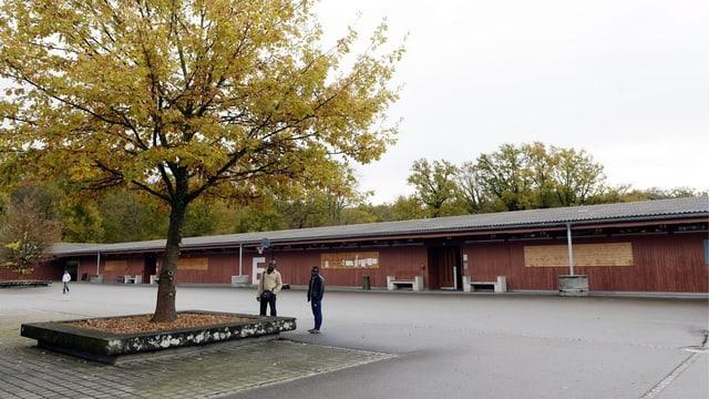 Innenhof des Bundeszentrums.