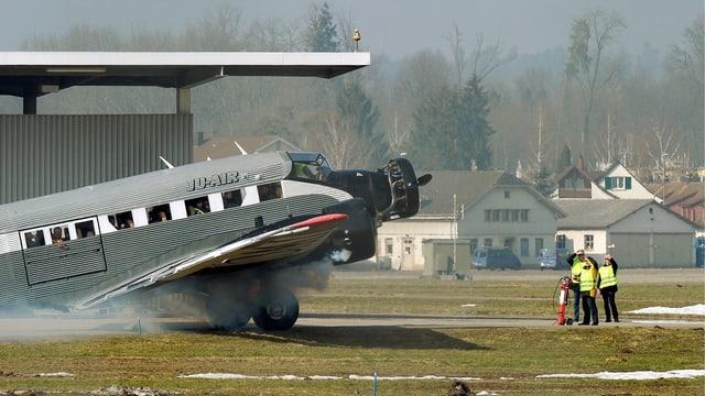 Purtret d'ina Ju-52.