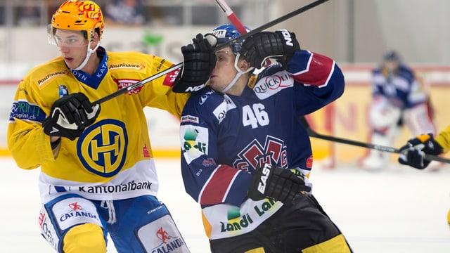 2 giugaders da hockey.