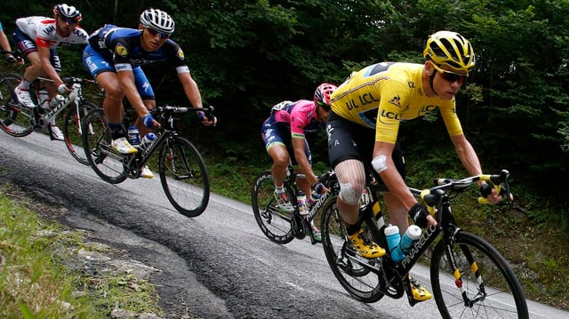 chris froome sin velo suandads dad auters