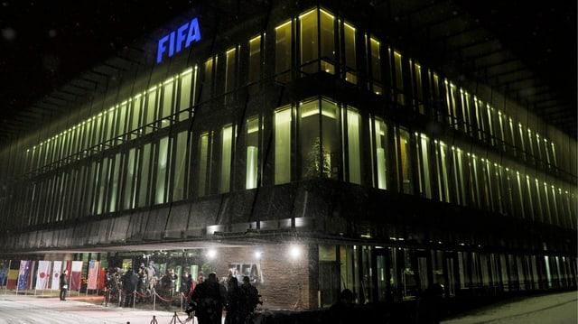 Hauptsitz der FIFA in Zürich.