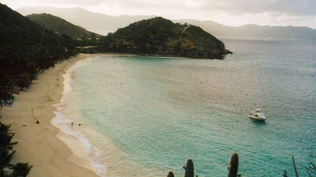 Sandstrand auf British Virgin Islands.