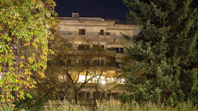 Die Wohnung, wo die Behörden 2011 die 1500 Gemälde gefunden haben sollen.