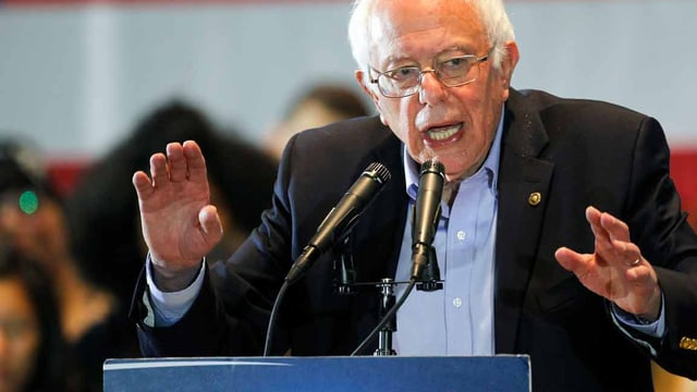 Bernie Sanders, US-Präsidentschaftskandidat.