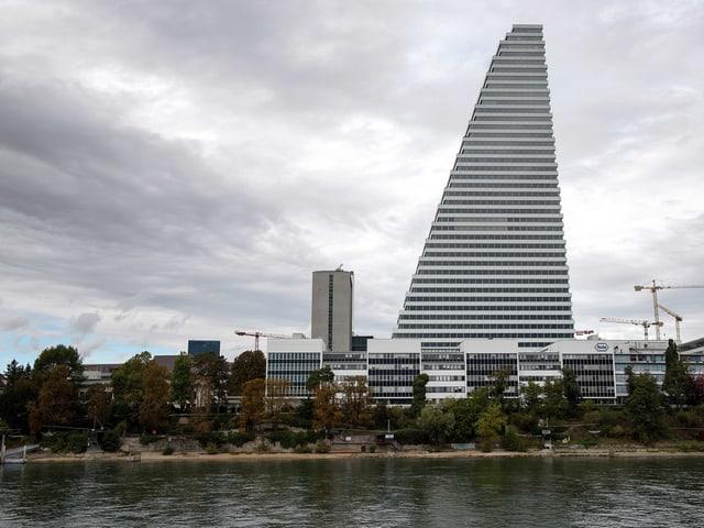 Roche Tower in Basel