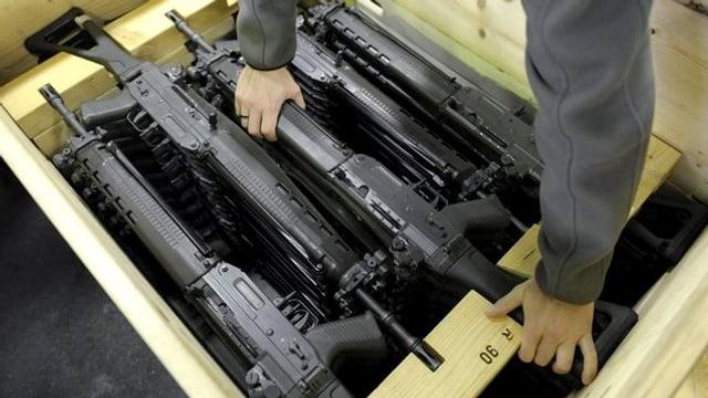 Das Schweizer Sturmgewehr.